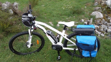 el camino de santiago en eBike bicicleta electrica con motor pedaleo asistido