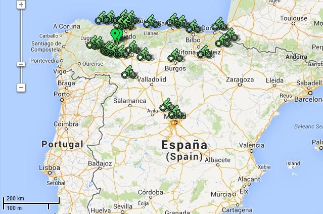 http://www.estarenbabia.es/bikenbabia/Puntosdeencuentro.html Bicicletas para el camino de santiago desde Ponferrada, León, Molinaseca, Astorga, Gijón, Oviedo, Camino Primitivo, Camino francés, todo incluido