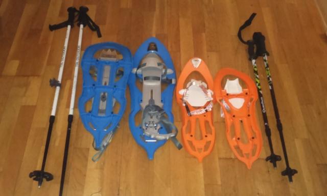 Alquiler de Raquetas de nieve para niños y adultos