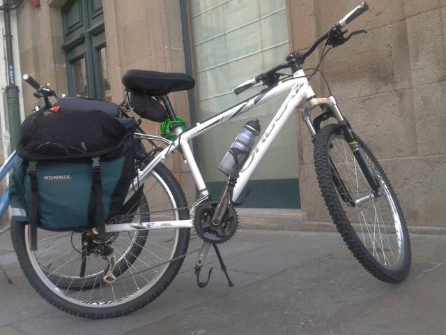 rentar bicicletas camino santiago
