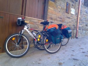 bike for St. James Way pilgrimage Camino de Santiago