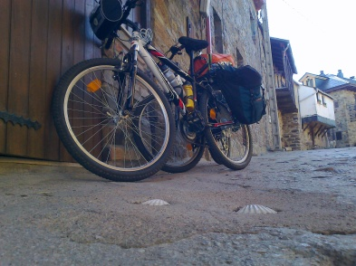 bici para el camino de santiago