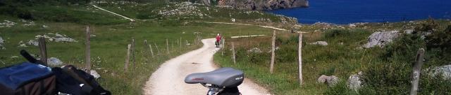 Camino del norte en bicicleta