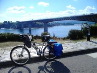 fotos camino de santiago en bicicleta