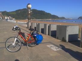 Camino de Santiago por la ruta norte en bicicleta con alforjas