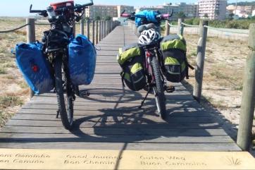 Camino portugues por la costa en bicicleta de alquiler bikenbabia