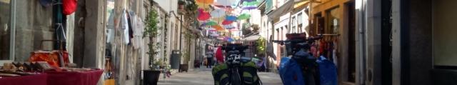 Camino de Santiago desde Porto Portugal en bicicleta